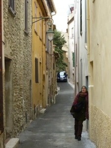 The old, twisty Cagnes-sur-Mer.